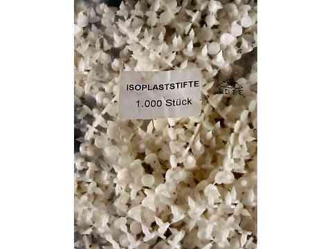 PVC-Nieten zum Verschließen von Rohrisolierung 1000 Stk
