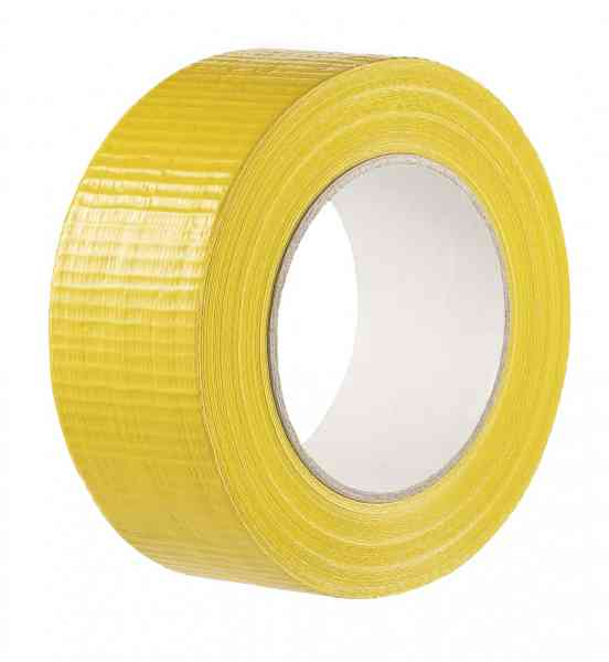 Gewebeklebeband extra strong gelb 48 mm x 50 m
