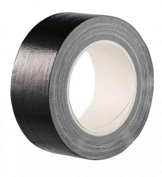 Gewebeklebeband PLUS S schwarz 50 mm x 25 m